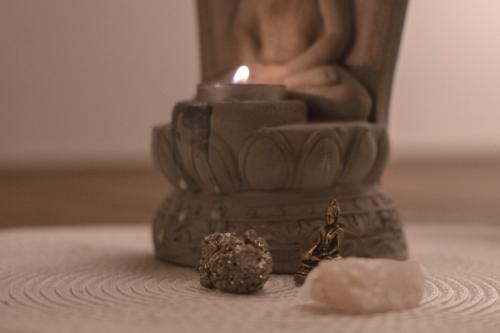 De volle maan en yoga